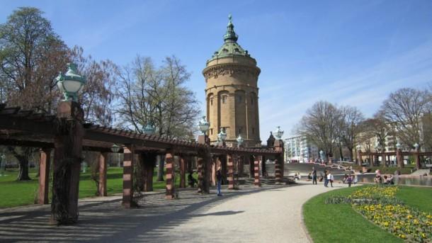 Der Wasserturm Mannheim