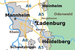 Wohnmobilstellplatz Ladenburg Heidelberg Mannheim